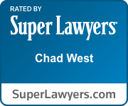 super lawyers chad west